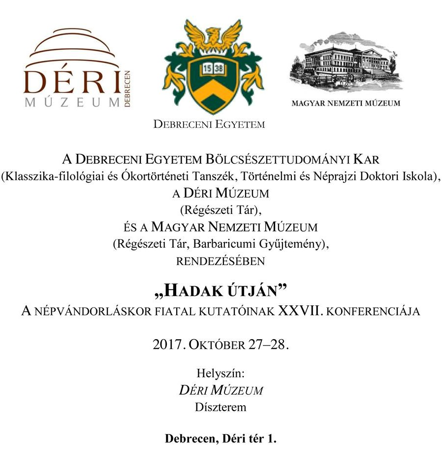 """Dr. Szalontai Csaba kollégánk előadása a """"Hadak útján"""" konferencián"""