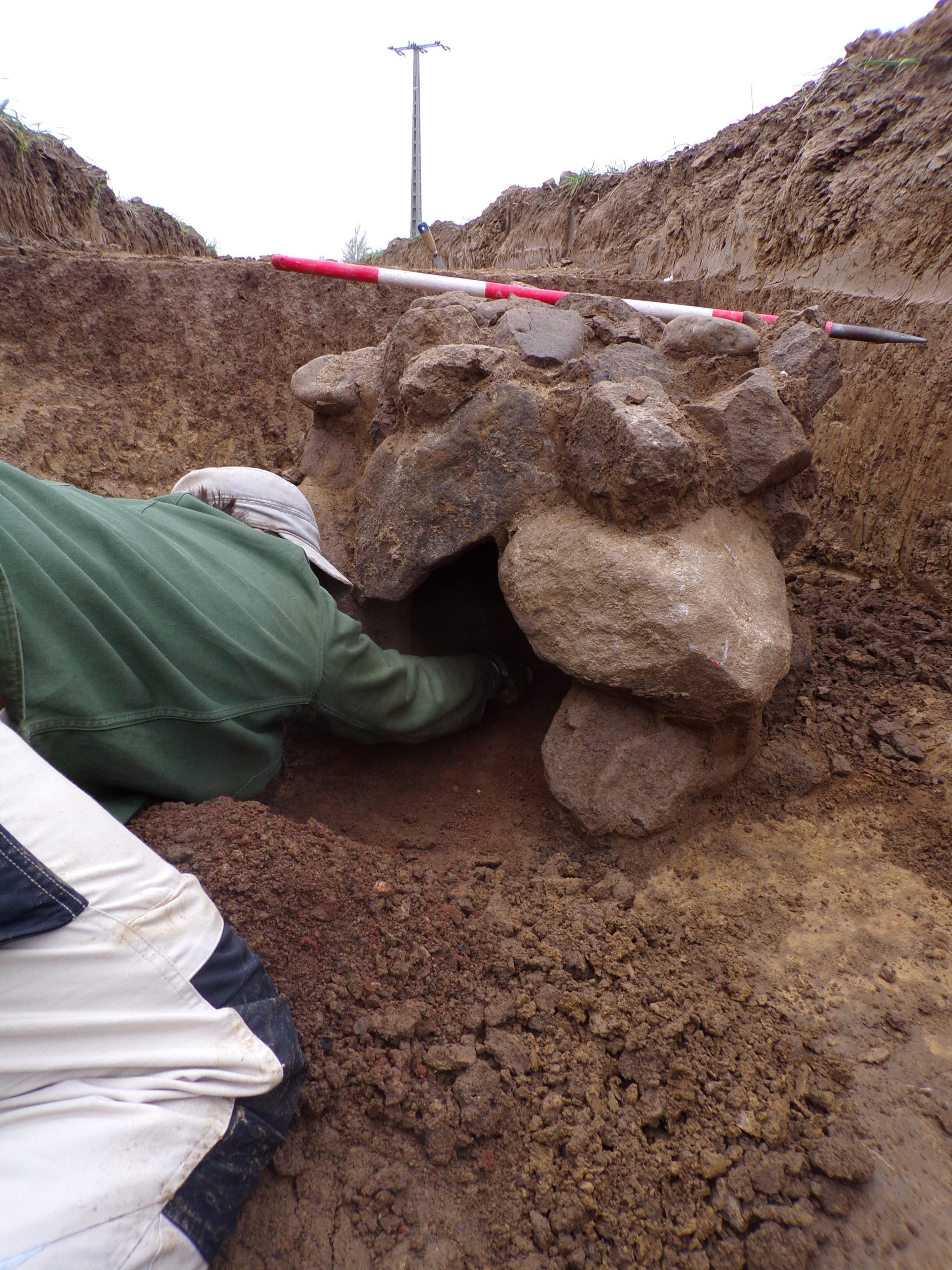Régészeti feltárásunk a Hernád völgyében