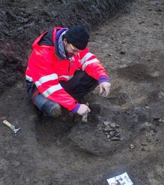 Megelőző feltárás: urnamezős kultúra Tura település mellett (Pest megye)
