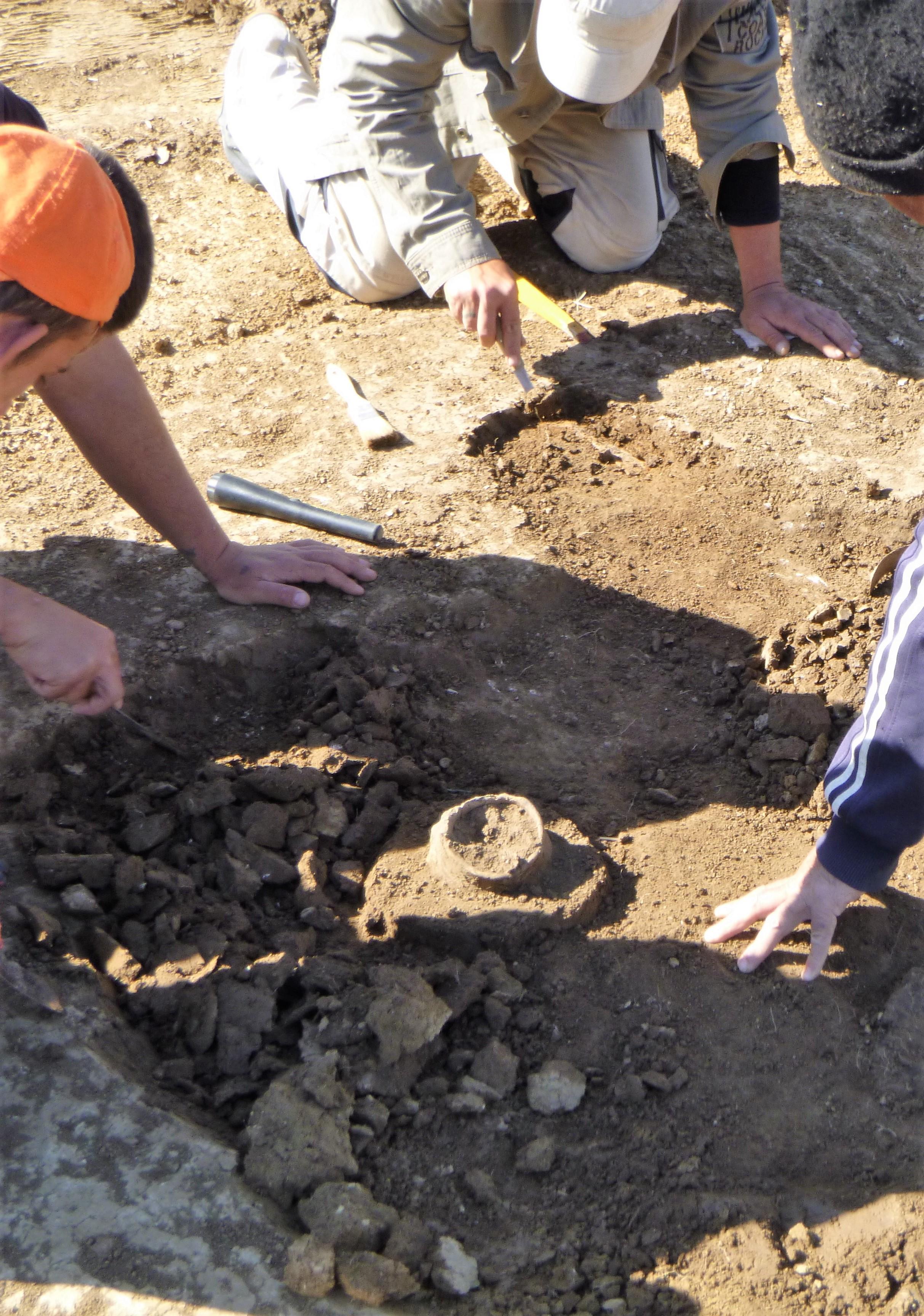 Birituális szkíta temető feltárás Méra, Cser-alj lelőhely
