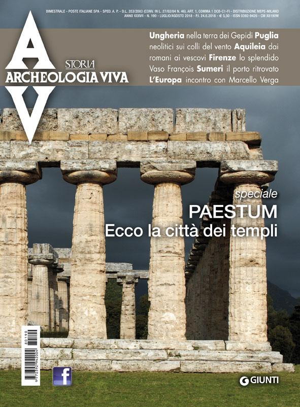 Gepida sírmező feltárásunk összefoglalója az olasz ARCHEOLOGIA VIVA-ban