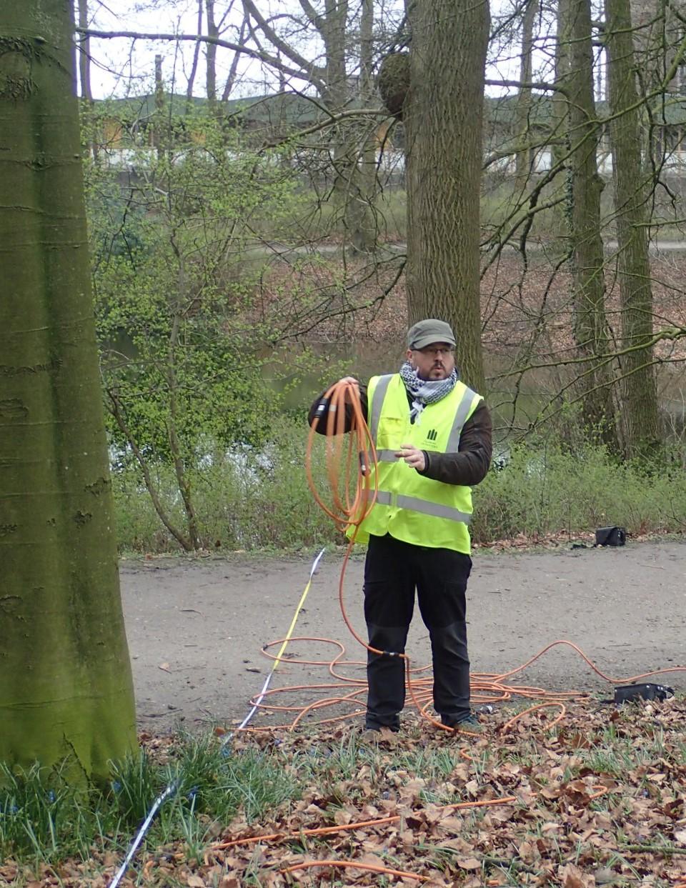 A Helperlinie védvonal feltérképezése Groningenben