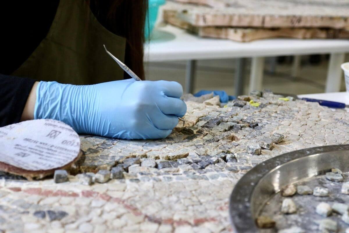 Római kori mozaik